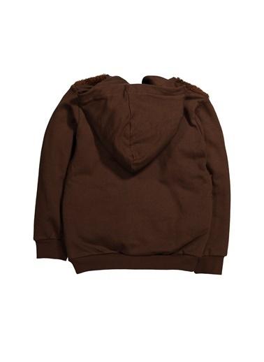 Zeyland Önü Peluş Parçalı Fermuarlı Sweatshirt (5-12yaş) Önü Peluş Parçalı Fermuarlı Sweatshirt (5-12yaş) Kahve